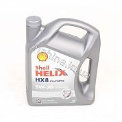 Масло моторное 5W-30 4L SHELL HELIX HX8