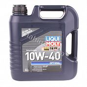 Масло моторное 10W-40 4L LIQUI MOLY OPTIMAL