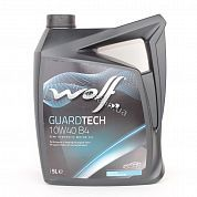 Масло моторное 10W-40 5L WOLF GUARDTECH B4